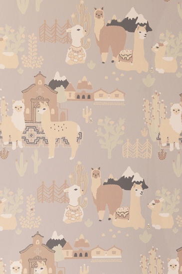 Picture of LAMA VILLAGE SOFT GREY - 143-01